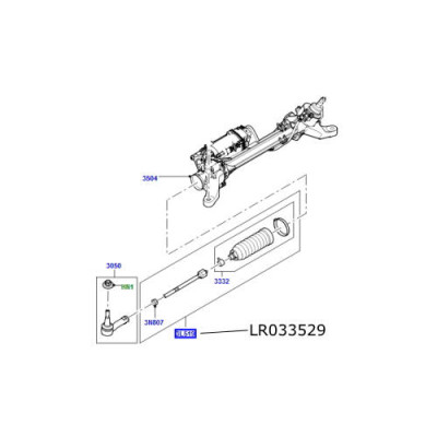 Bieleta directie cu burduf Range Rover L405 si Sport LR033529