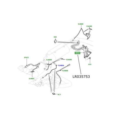 Senzor presiune filtru DPF Range Rover L405 si Sport LR035753