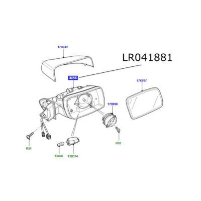 Oglinda dreapta LR Discovery 4 Range Rover Sport LR041881