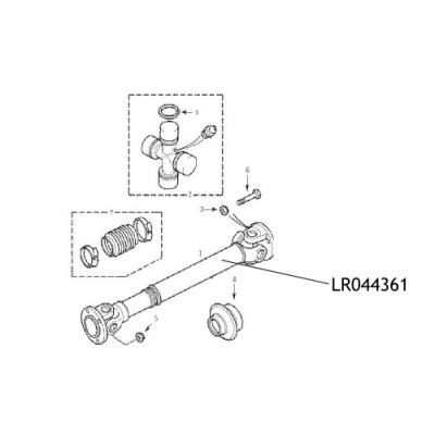 Cardan Land Rover Defender LR044361