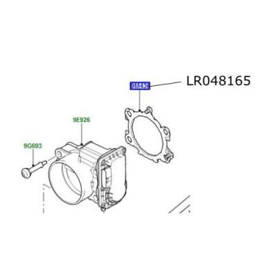 Garnitura clapeta acceleratie LR Discovery 5 Range Rover L405 Sport si Velar LR048165