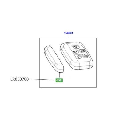Carcasa cromata telecomanda Freelander 2 Discovery 4 si Sport LR050788