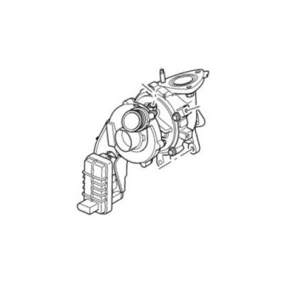 Turbina turbosuflanta stanga Range Rover Sport si L322 Discovery 4 LR056369