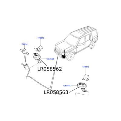 Stropitor far dreapta Land Rover Discovery 4 LR058562