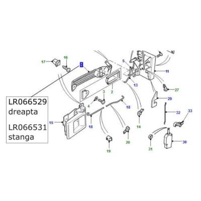 Maner usa fata dreapta LR Defender LR066529