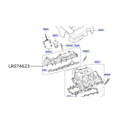 Galerie admisie motor 3000cc diesel Discovery 4 Range Rover L405 si Sport LR074623