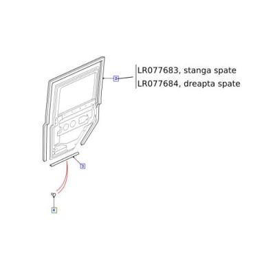 Cheder usa Defender 2007-  LR077683