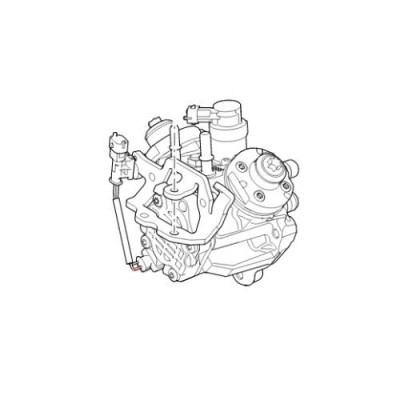 Pompa injectie motor 3000cc V6 diesel LR Discovery Range Rover LR078840