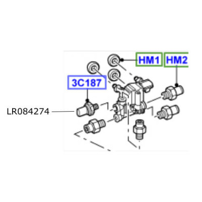 Senzor compresor suspensie LR Discovery 4 Range Rover Sport LR084274