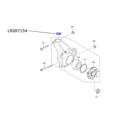 Portfuzeta fata stanga Range Rover Evoque LR087154