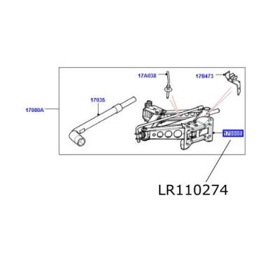 Cric mecanic LR Discovery Sport Range Rover Evoque LR110274 LR070902