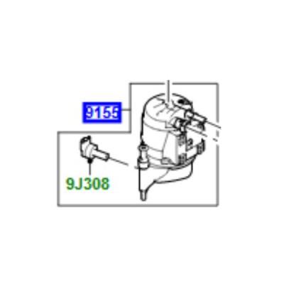 Bloc filtru combustibil 2000cc diesel Discovery Sport Range Rover Evoque LR111341