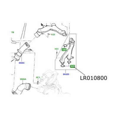 Oring apa bloc motor Discovery 4 Range Rover L322 L405 si Sport LR010800