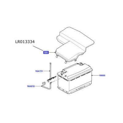 Capac baterie Land Rover Freelander 2 LR013334