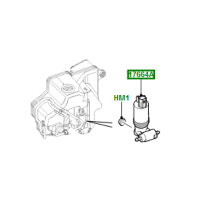 Pompa stropitor far LR Discovery 4 si Sport Range Rover Evoque si Sport LR013951