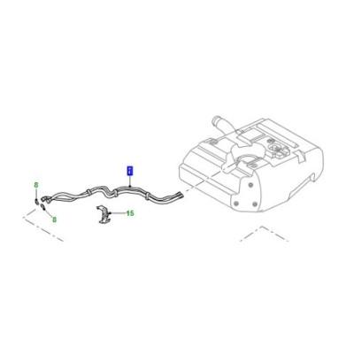 Conducte combustibil set Defender 110 130 de la 2009 LR016984