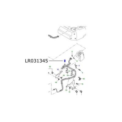 Conducta combustibil intermediara LR Defender tip 90 de la 2007 LR031345