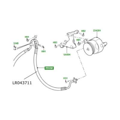 Conducta sistem stabilizare Range Rover Sport de la 2014 LR043711