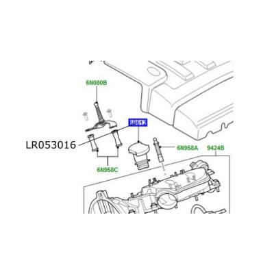 Gat umplere ulei Discovery 4 si 5 Range Rover L322 L405 si Sport LR053016