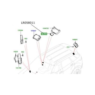 Senzor umiditate interior Discovery 4 5 si Sport Range Rover L405 Sport si Evoque LR058011