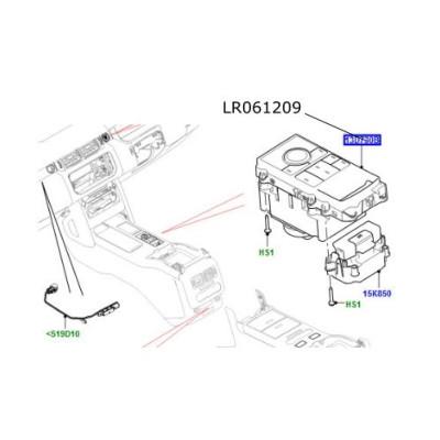 Modul HDC Range Rover L405 si Sport LR061209