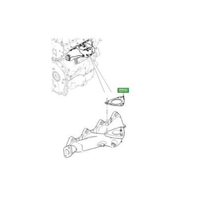 Garnitura turbina galerie motor 2000cc diesel Discovery Sport Range Rover Evoque LR073723