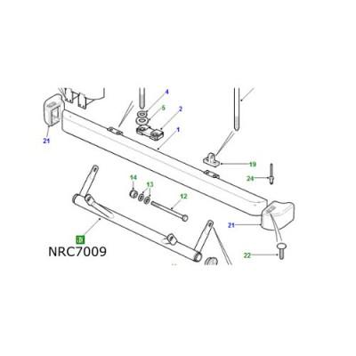 Bara scut protectie sistem directie LR Defender NRC7009