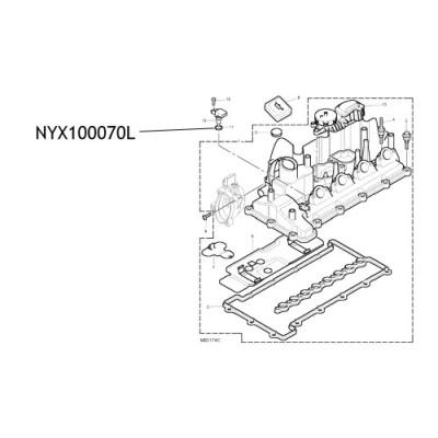 Oring senzor ax came NYX100070L Land Rover Freelander