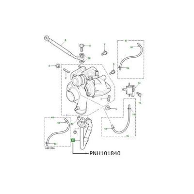 Conducta turbina motor TD5 LR Defender Discovery 2 PNH101840