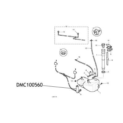 Pompa stropitor far Land Rover Discovery DMC100560