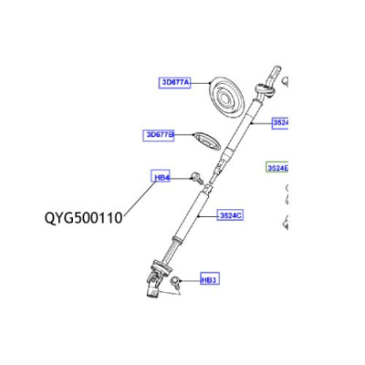 Surub cardan directie QYG500110 Land Rover Discovery