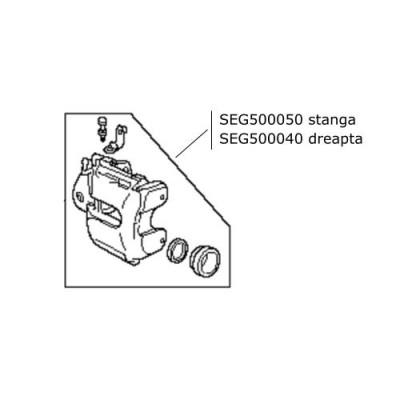 Etrier frana fata stanga LR Discovery 3 Range Rover L322 si Sport SEG500050