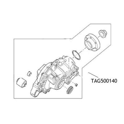 Diferential ansamblu Discovery 3 TAG500140 LR056944