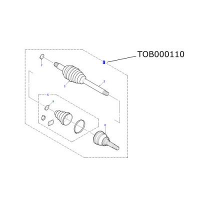 Planetara ansamblu spate LR Freelander 2002-2006 TOB000110