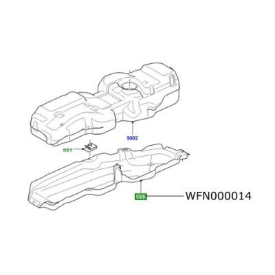 Scut termic rezervor combustibil Discovery 3 Range Rover Sport WFN000014