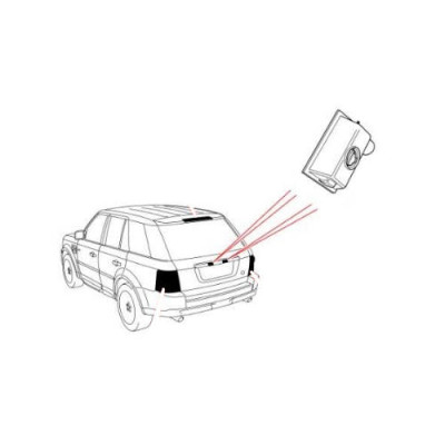 Lampa placuta numar LR Freelander 2 Discovery 3 si 4 Range Rover Sport XFC500040