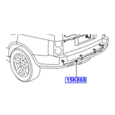 Instalatie electrica senzori parcare spate Range Rover L322  YMD001992