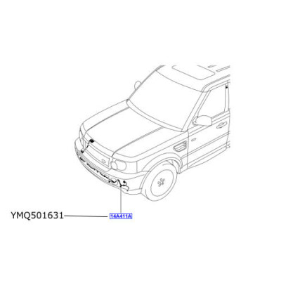 Cablaj senzori parcare fata LR Discovery 3  Range Rover Sport  YMQ501631