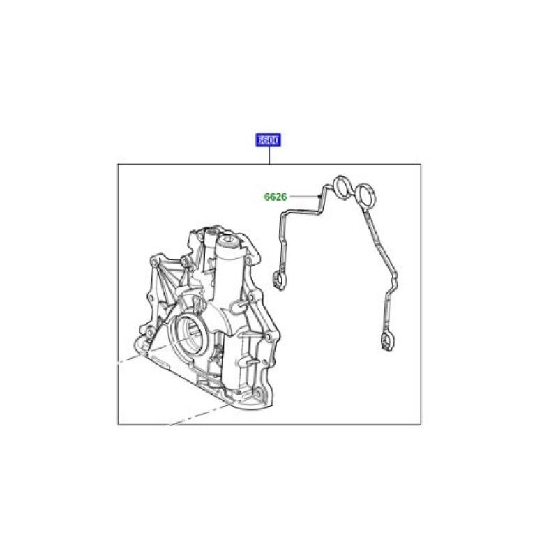 Pompa ulei motor V8 diesel Range Rover L322 L405 si Sport LR089143 LR050540