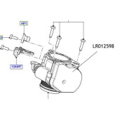 Clapeta acceleratie Freelander Range Rover LR012598