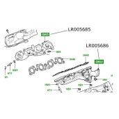 Galerie evacuare dreapta Range Rover Sport motor 3600cc diesel LR005685