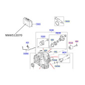 Modul electronic cutie transfer LR Discovery 3 Range Rover L322 si Sport NNW512070