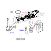Pompa motorina in rezervor LR Discovery 3 Range Rover Sport WGS500110